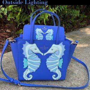 Kate Spade Hayden Seahorse Bag & Wallet Rare Set